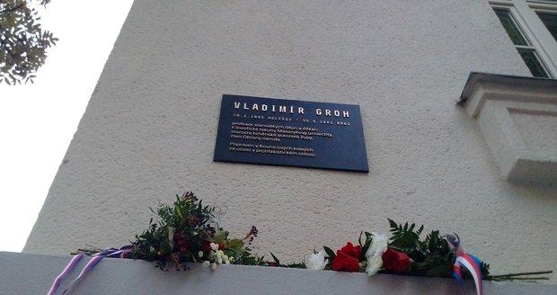 Vladimír Groh byl zavražděn v roce 1941.