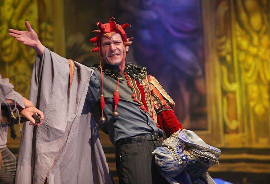 Vladimír Marek (†69) si zahrál šaška v muzikálu Johanka z Arku na několika scénách.