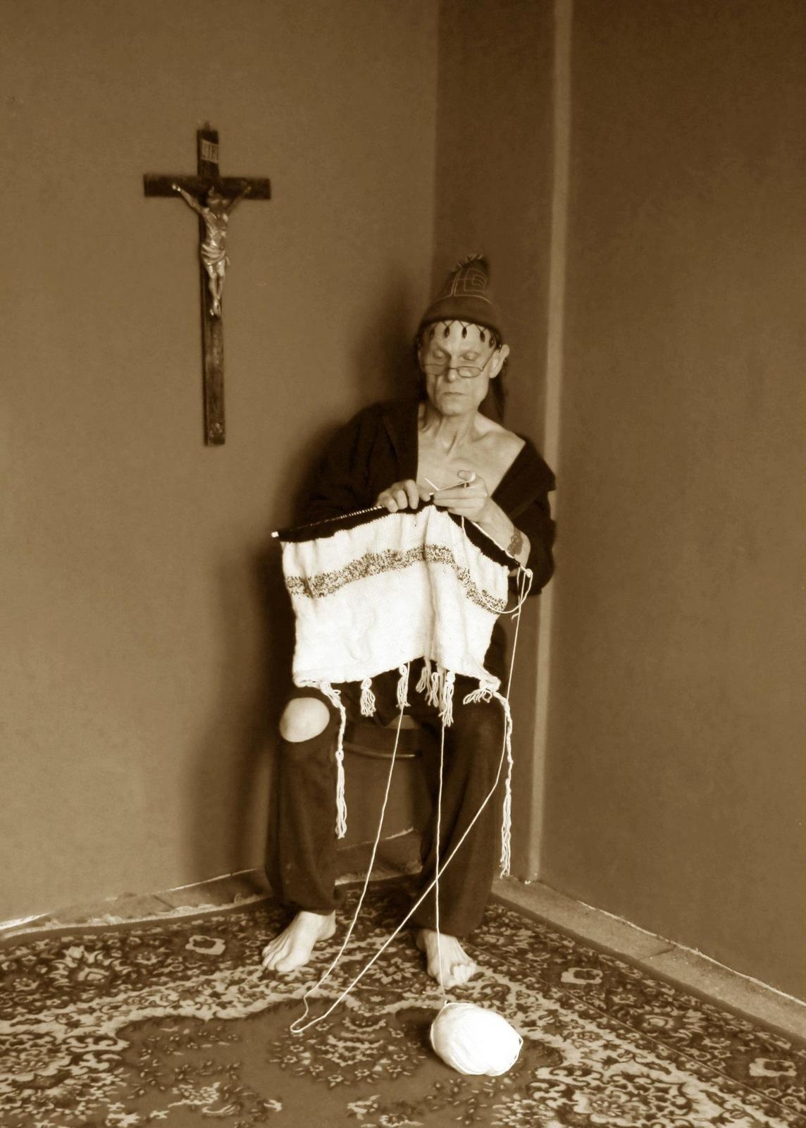 Vladimír Marek (†69) rád fotil, například své stylizované autoportréty.