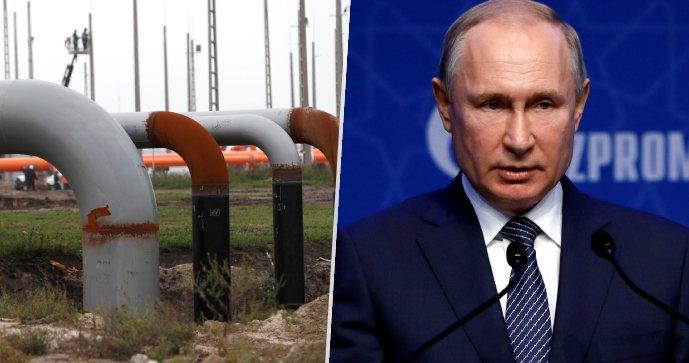 Russlands Präsident Wladimir Putin sagte, Russland sei bereit, Europa bei der Stabilisierung des Gasmarktes zu unterstützen.