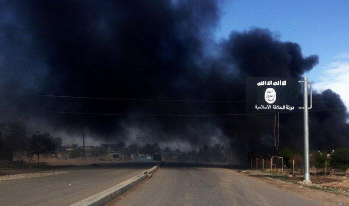 Vlajka islámského státu v Iráku