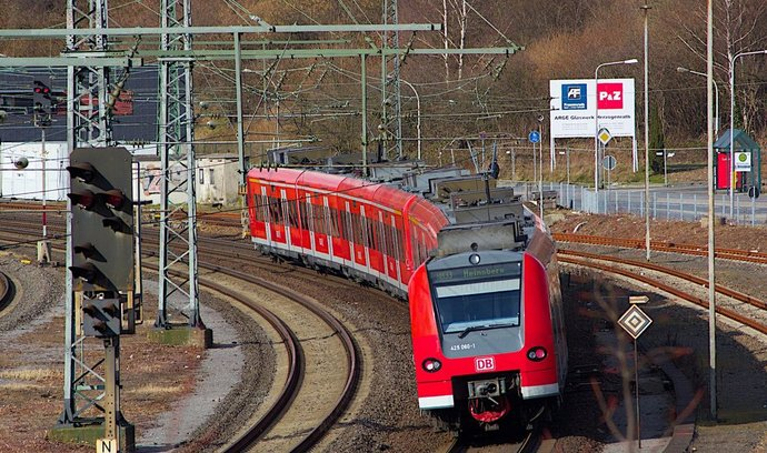 vlak Deutsche Bahn