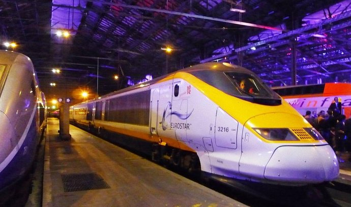 Vlak TGV Eurostar