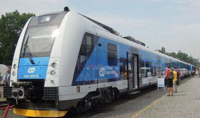 Vlaková souprava z rodiny RegioPanter