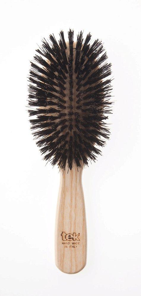 Kartáč s kančími štětinami na jemné a prodlužované vlasy Oval, TEK, 719 Kč