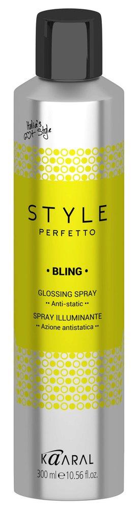 Lesk na vlasy ve spreji Style Perfetto Bling, Kaaral, 450 Kč