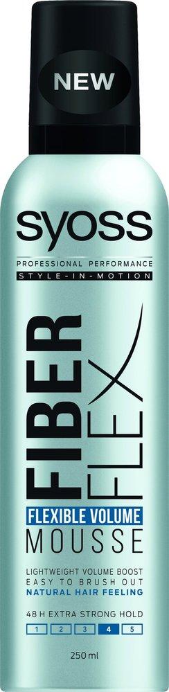 Pěnové tužidlo pro objem vlasů FiberFlex Flexible Volume, Syoss, 129 Kč