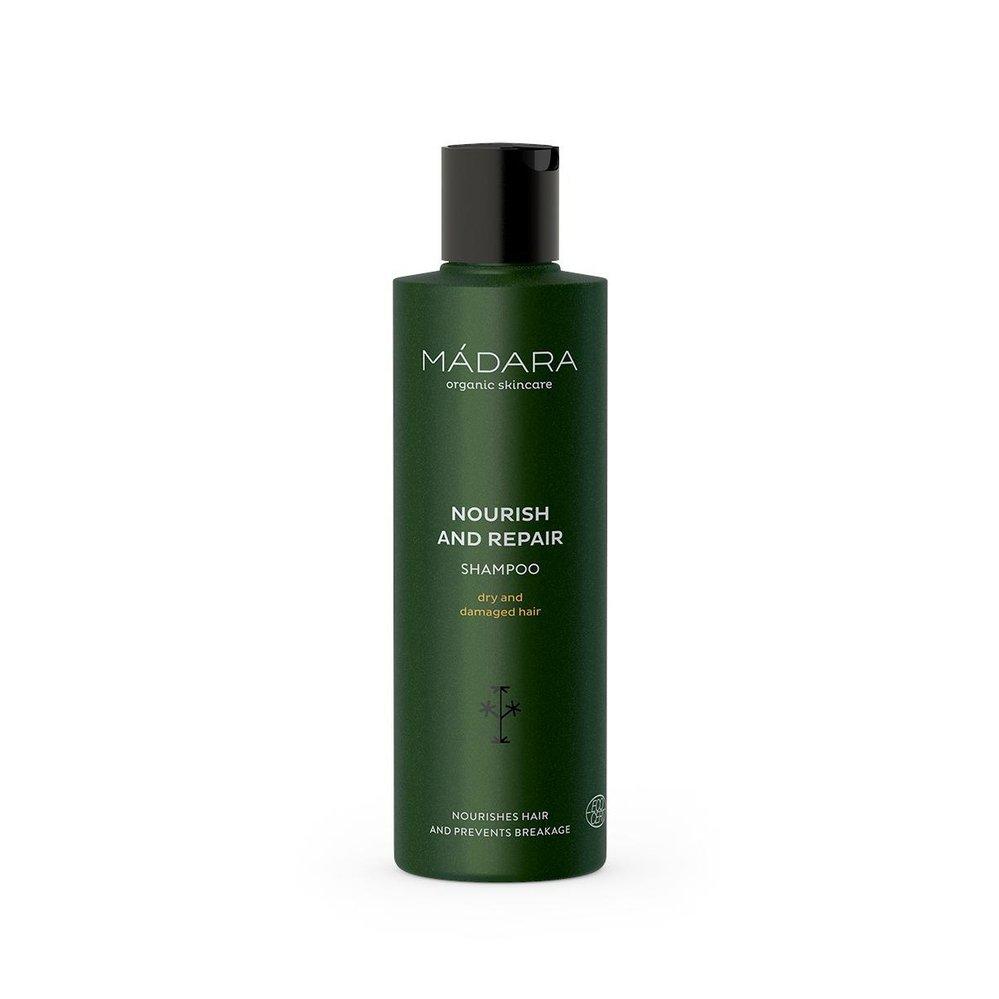 Šampon pro suché a poškozené vlasy, Mádara, biooo.cz, 295 Kč