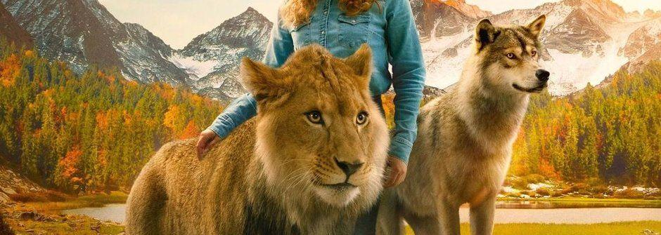 Vlk a lev: Dobrodružný film s živými šelmami