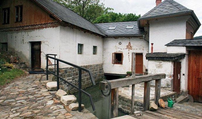 Vodní mlýn Wesselsky v Loučkách