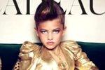 Make-up, výstřih a boty na podpatcích - to není vhodné oblečení pro desetiletou dívku