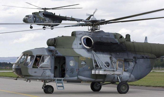 Vojáci počítají i s modernizovanými sovětskými vrtulníky Mi-171Š