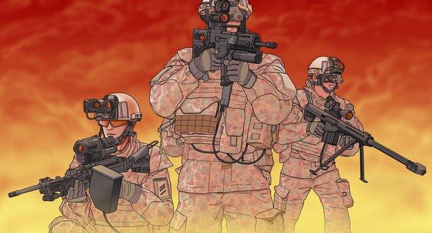 Voják nové generace: Jak funguje bojový systém Gladius