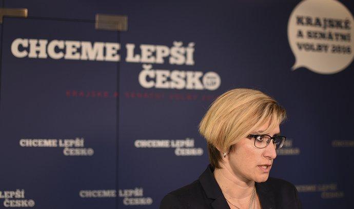 Ministryně pro místní rozvoj Karla Šlechtová