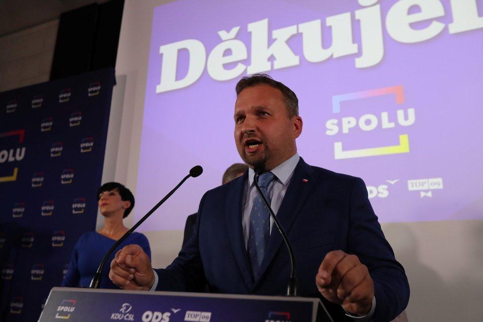 Předseda KDU-ČSL Marián Jurečka (9.10. 2021)