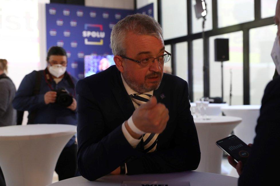 Volby 2021: Štáb Spolu (9.10.2021): Marek Benda
