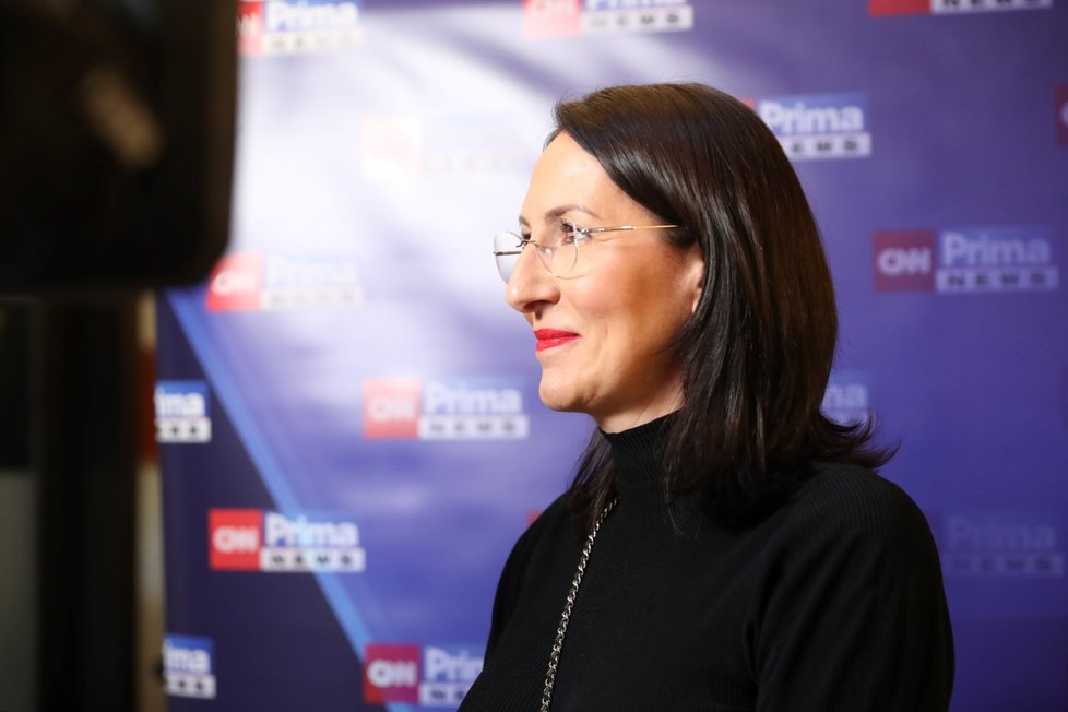 Volby 2021: Štáb Spolu (9.10.2021): Alexandra Udženija