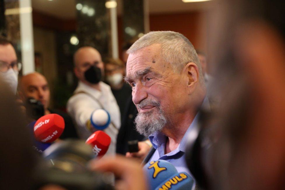 Volby 2021: Štáb Spolu (9.10.2021): Karel Schwarzenberg