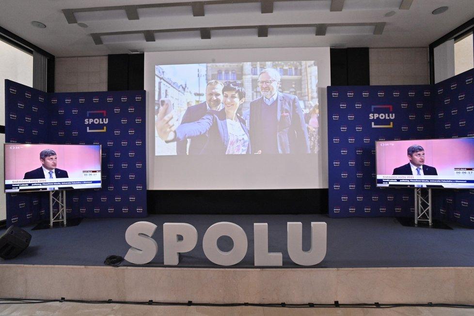 Volby 2021: Štáb Spolu (9.10.2021)