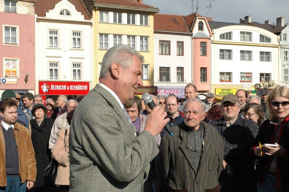 Volby ČSSD , Miloš Zeman, Zemák, Vyškov