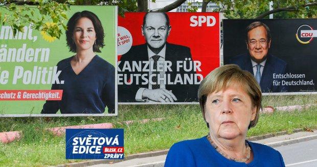 Konec benzinu, migrace či důchody. Co rozhodne o nástupci Merkelové a kdo toho využívá?