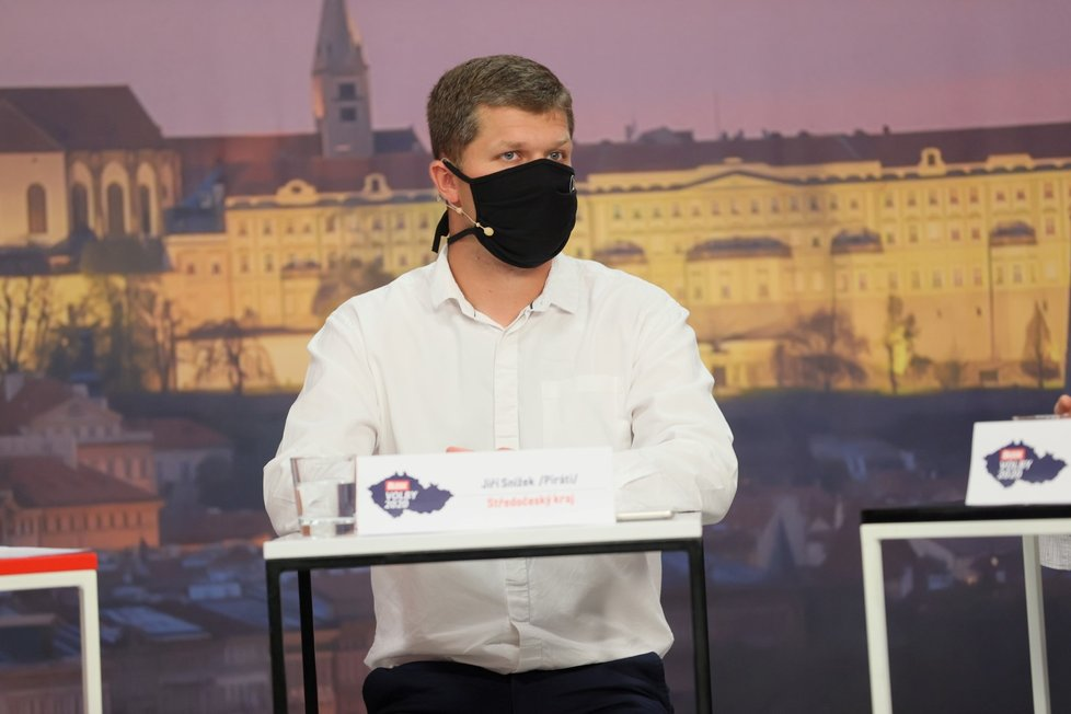 Debata Blesku o školství: Jiří Snížek (Piráti) (17. 9. 2020)