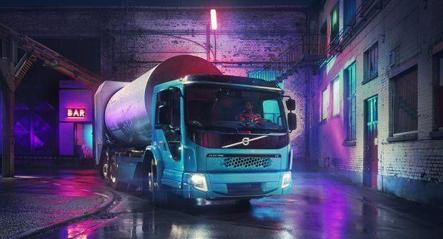 Volvo FE: Popelář na elektřinu