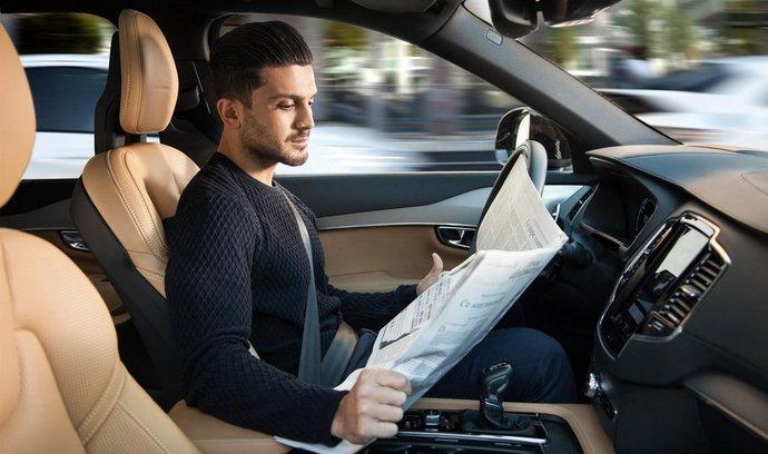 Volvo převezme odpovědnost za nehody svých autonomních vozů