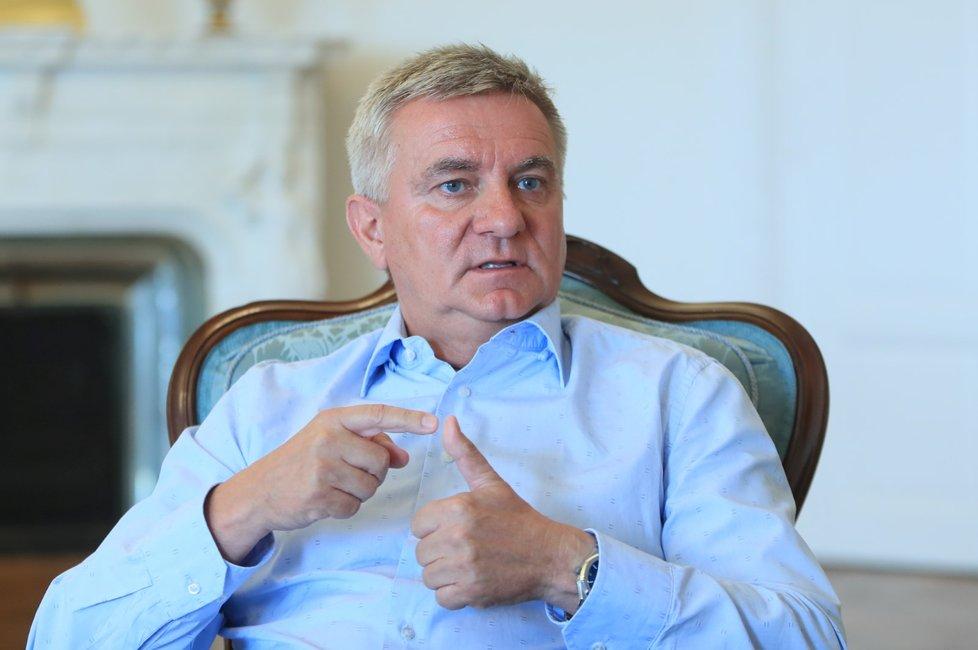 Vratislav Mynář při rozhovoru pro Blesk