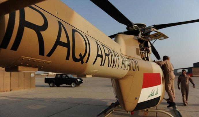 Vrtulník Bell 407 irácké armády