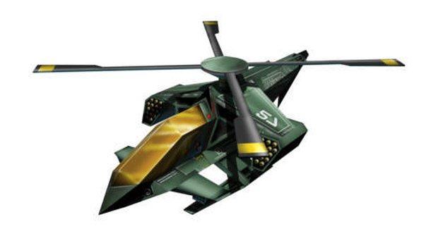 Vrtulník Raven 4 Squadron
