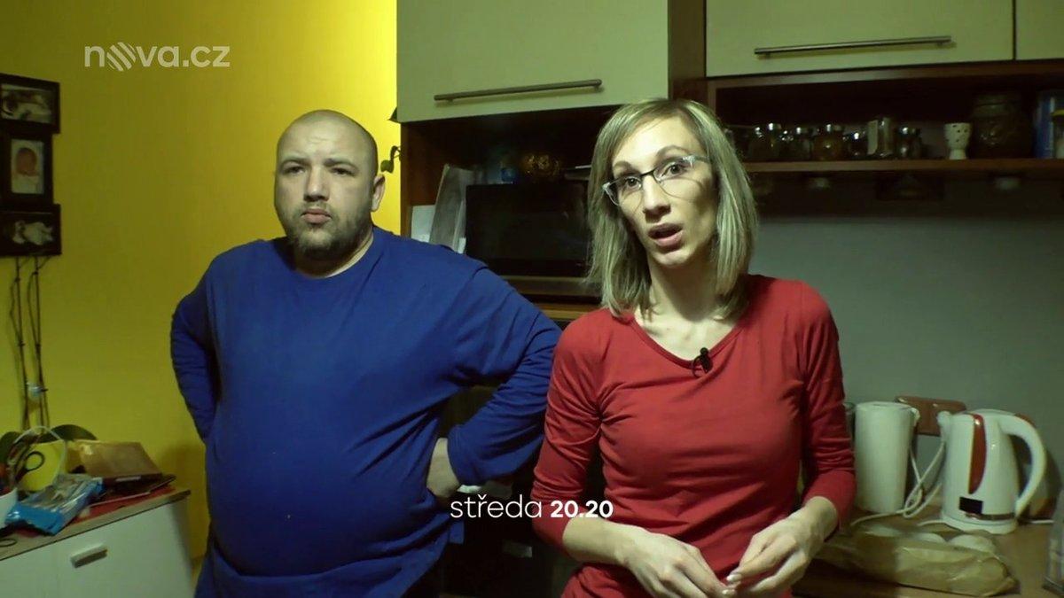 Kristýna s dočasným manželem