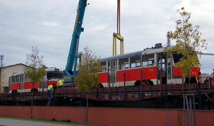 Vyřazené tramvaje T3 zamířily do Ruska a na Ukrajinu