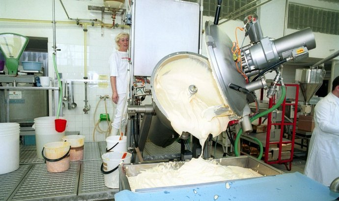 Výroba majonézy (ilustrační foto)