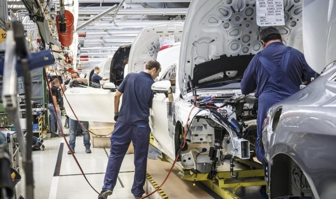 Výroba Mercedesu třídy S