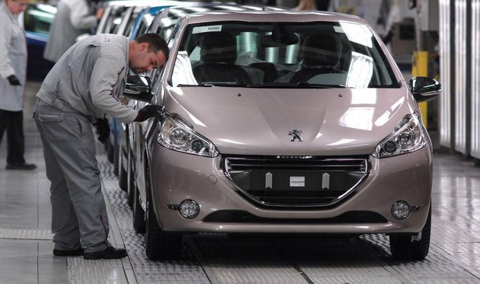 Výroba Peugeotu 208