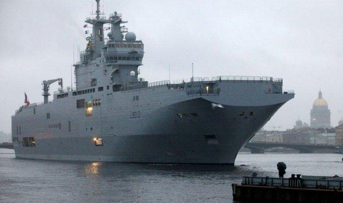 Výsadková loď třídy Mistral
