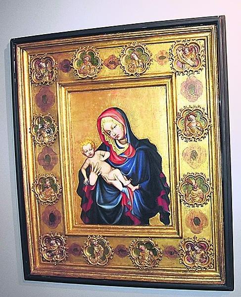 Svatovítská madona Patří k nejvzácnějším středověkým dílům.