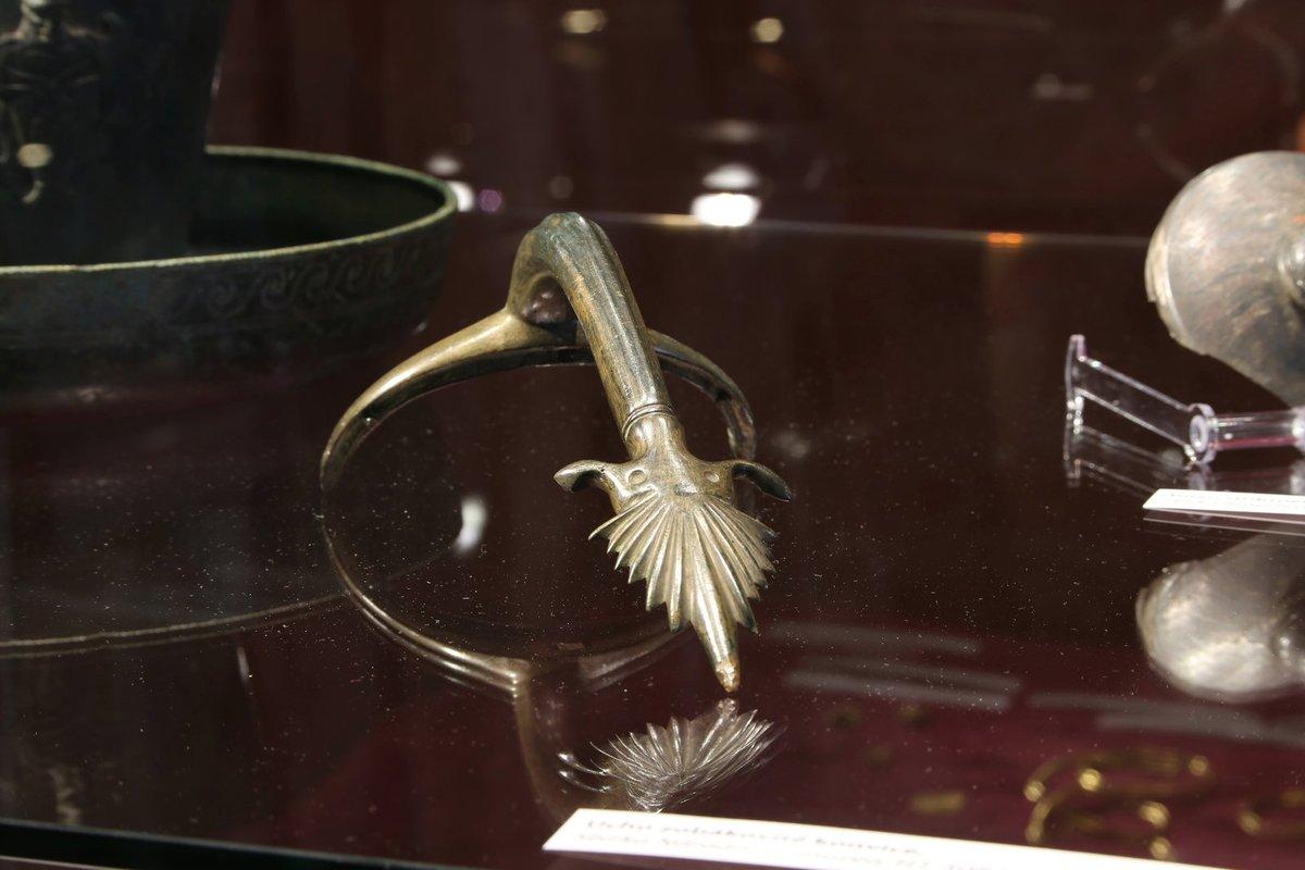 Mezi exponáty z Keltského pokladu na Hradišti se dochovaly i části koňského postroje.
