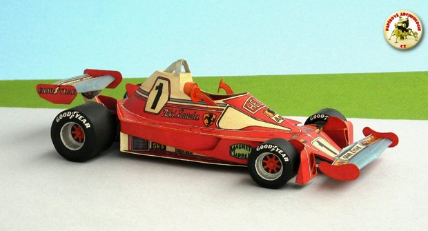 Papírová historie: Ferrari 312 T2 a těžce zkoušený Lauda