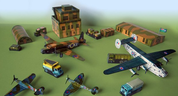 Letiště RAF ze II. světové války (část 1/2)
