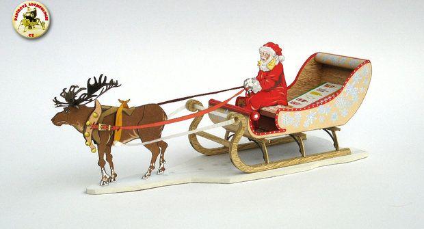 Vystřihovánky: Krásné Vánoce v papírovém světě