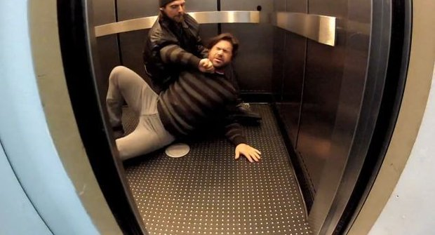 Vražedný experiment ve výtahu