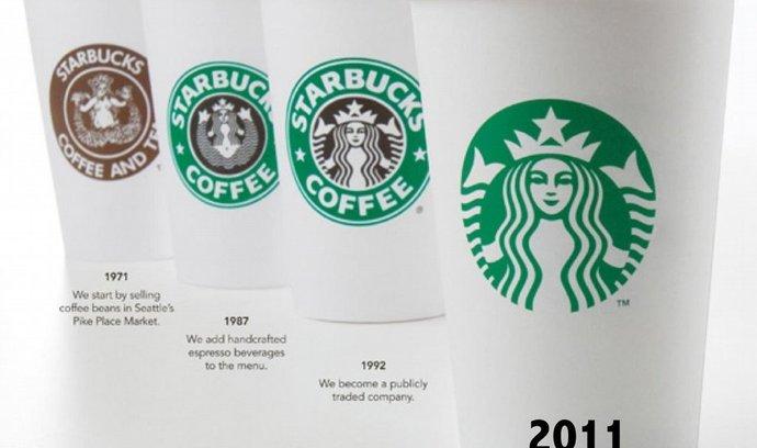 Vývoj loga Starbucks