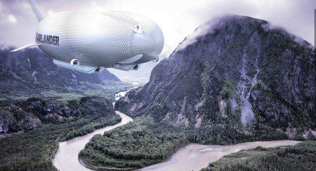 """Největší létavec: """"Obyčejná"""" vzducholoď překonala nejdelší letadlo"""