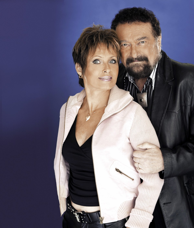 Waldemar Matuška a jeho žena Olga