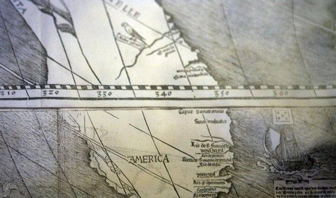 Waldseemüllerova mapa světa