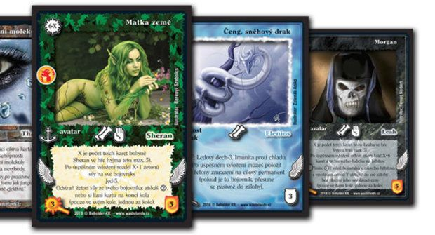 Wastelands: Karty plné magie