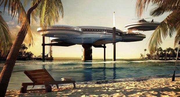 Obojživelný hotel