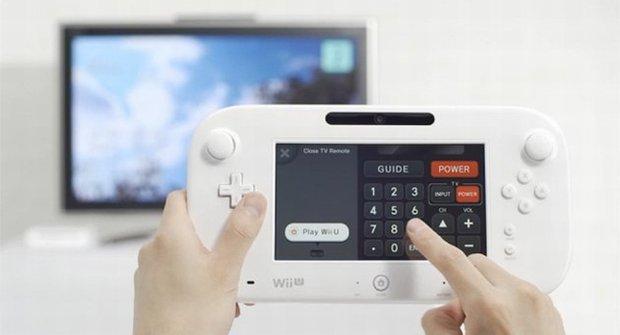 Co nabízí nová konzole Wii U ovládaná tabletem?